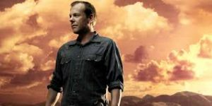 How many films has Kiefer Sutherland been in