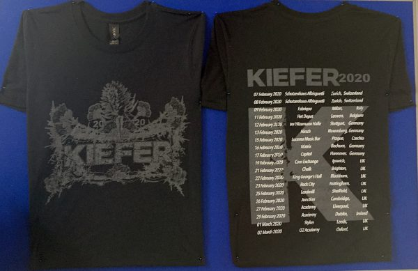 Kiefer Tour shirt
